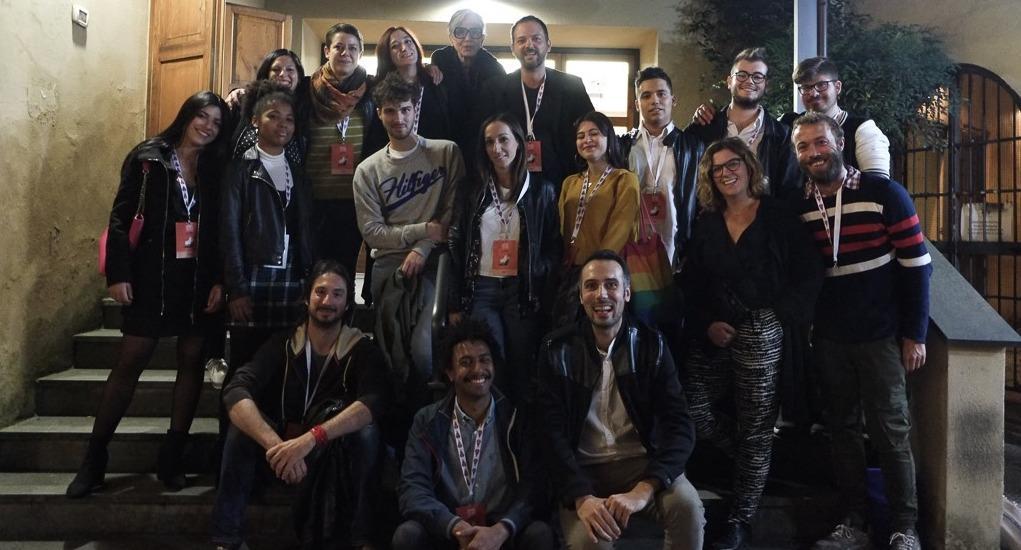 Tutto lo staff di Presente Italiano - foto di gruppo
